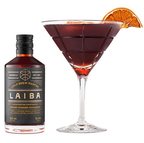 Laiba Cold Brew Martini Cocktail