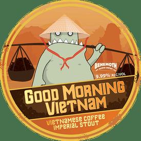 Behemoth Brewing Good Morning Vietnam Coffee Stout