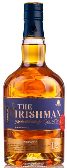 The Irishman Single Malt 12YO Irish Whiskey