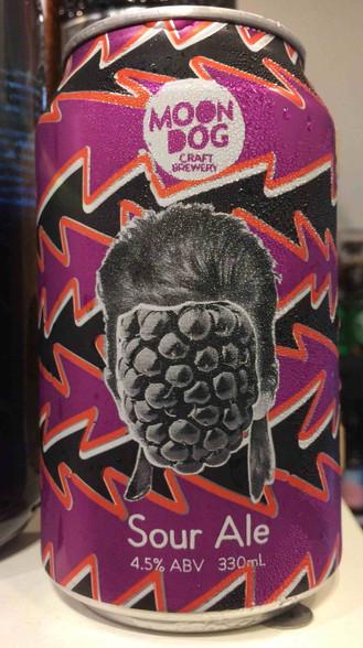 Moon Dog David Boysenbowie Boysenberry Sour Ale