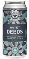 Deeds Brewing Quiet Deeds Daydreaming in Winter DDH Pale