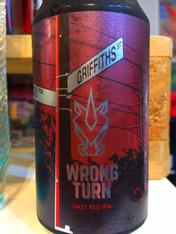 Blasta Brewing Wrong Turn Hazy Red NE IPA