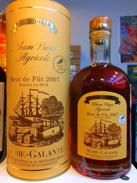 Bielle Rhum Vieux Agricole Guadeloupe 2007 Rum