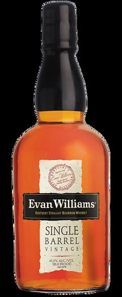 Evan Williams Single Barrel Bourbon Whiskey