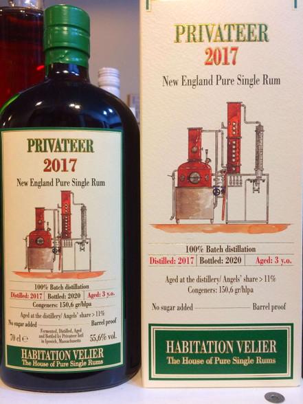 Privateer 2017 New England Rum 3YO Habitation Velier