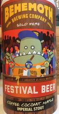 Behemoth Festival Beer Stout