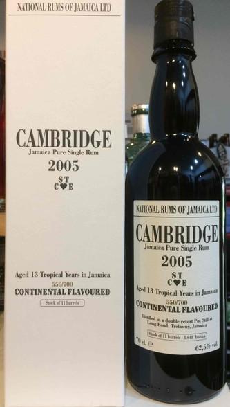 Cambridge Jamaica Rum 13YO