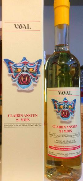 Clairin Vaval Ansyen 21 Months Haiti Rhum