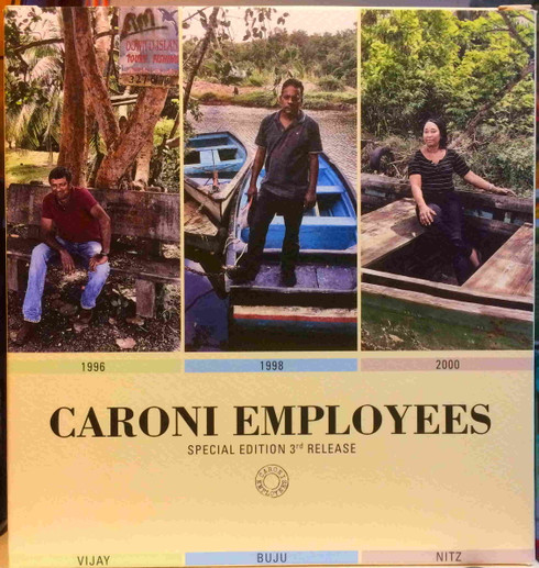 Caroni Employees Special Edition 3rd Release Full Proof Trinidad Rum