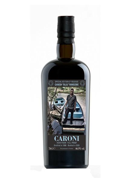 Caroni Employees 3rd Release  Ganesh Ramgobie 22YO Full Proof Trinidad Rum