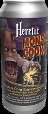Heretic Monster Cookie Chocolate Chips Barley Wine