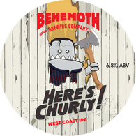 Behemoth Here's Churly West Coast IPA CAN