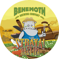 Behemoth Straya Hazy IPA CAN