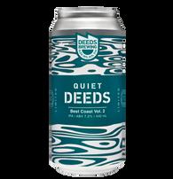 Deeds Brewing Quiet Deeds Best Coast Vol. 2 West Coast IPA