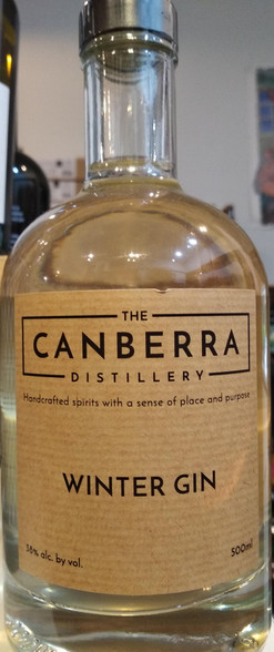 The Canberra Distillery Winter Gin Front