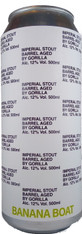 Gorilla Banana Boat Barrel Aged Imperial Stout