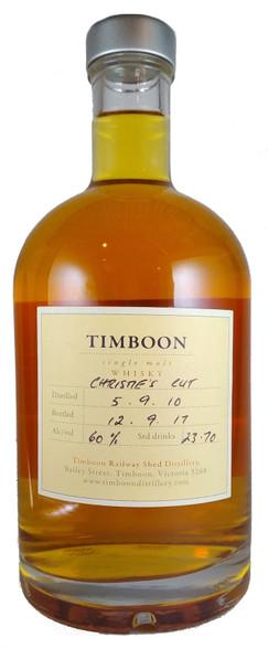 Timboon Single Malt Christie's Cut