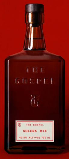 The Gospel Solera Rye Whiskey