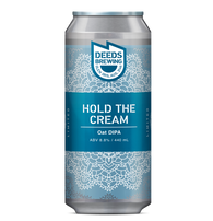 Deeds Brewing Hold the Cream Oat Double IPA