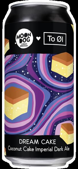 Moon Dog x To Ol Dream Cake Darl Ale