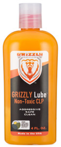 Grizzly Lube Non-Toxic CLP 4 FL OZ.