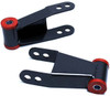 """1987-2003 Ford F-150 2wd/4wd 2"""" Rear Lowering Shackles - MaxTrac 411120"""