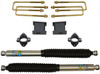"2007-2018 Chevy Silverado 1500 2wd 3"" Front/4"" Rear Lift Kit W/ Bliestein Shocks - MaxTrac 901340B"
