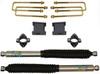 "2007-2018 GMC Sierra 1500 2wd 3"" Front/4"" Rear Lift Kit W/ Bliestein Shocks - MaxTrac 901340B"