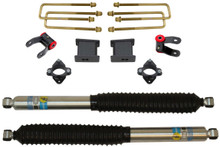 "2007-2018 Chevy Silverado 1500 2wd 3"" Front/5"" Rear Lift Kit W/ Bilstein Shocks - MaxTrac 901355B"