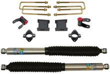 "2007-2014 GMC Sierra 1500 2wd 3"" Front/5"" Rear Lift Kit W/ Bilstein Shocks - MaxTrac 901355B"
