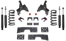 """1988-1998 Chevy Silverado 1500 2wd 4/6"""" Lowering Kit W/ Shocks - MaxTrac K330546"""