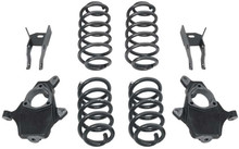 "2007-2013 Chevy Avalanche 2wd/4wd 3/4"" Lowering Kit - MaxTrac K331234"