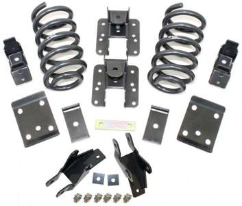 "2014-2018 Chevy Silverado 1500 (1pc Drive Shaft) 2wd/4wd 3/5"" Lowering Kit - MaxTrac K331535"