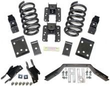 """2014-2018 GMC Sierra 1500 (2 pc Drive Shaft)2wd/4wd 3/5"""" Lowering Kit - MaxTrac K331535LB"""