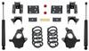 """2014-2016 GMC Sierra 1500 2wd/4wd (1pc Drive Shaft) 4/6"""" Lowering Kit - MaxTrac KS331546"""