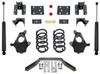 "2014-2016 Chevy Silverado 1500 2wd/4wd (2pc Drive Shaft) 4/6"" Lowering Kit - MaxTrac KS331546LB"