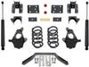 """2014-2016 GMC Sierra 1500 2wd/4wd (2pc Drive Shaft) 4/6"""" Lowering Kit - MaxTrac KS331546LB"""