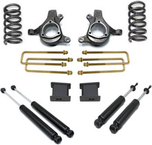 "1999-2006 Chevy Silverado 1500 2wd 8 Cyl 5"" Front 3"" Rear Lift Kit W/ MaxTrac Shocks - MaxTrac K880953-8"