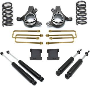 "1999-2006 Chevy Silverado 1500 2wd 8 Cyl 5"" Front 3"" Rear Lift Kit W/ MaxTrac Shocks - MaxTrac K880953-8"