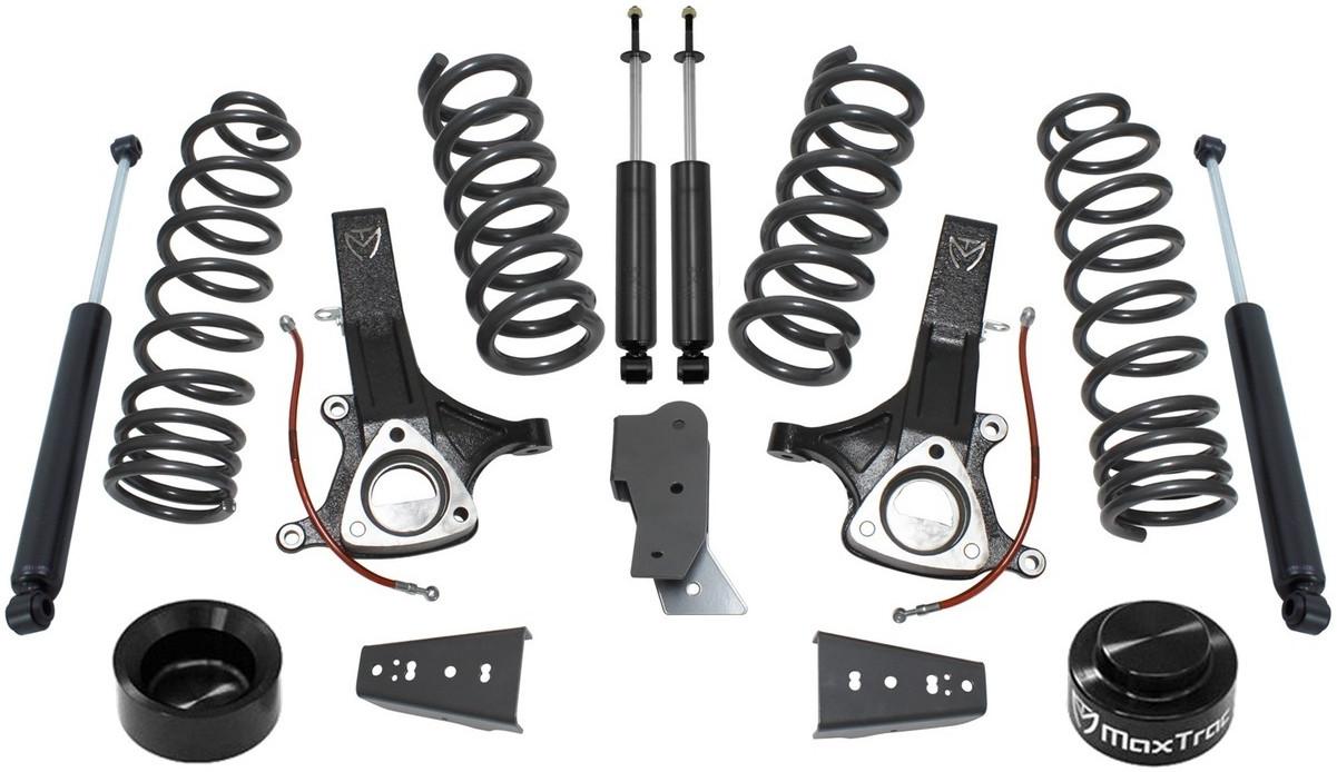 Maxtrac Suspension 752120-8 Springs /& Components Front Lift Coils 4.7L V8