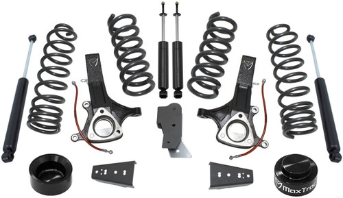 "2009-2017 Dodge RAM 1500 4.7L V8 2wd 7"" Lift Kit W/ MaxTrac Shocks - MaxTrac K882470"