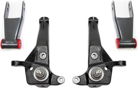 "2001-2010 Ford Ranger 2wd Coil Suspension (Non Stabilitrak) 4""/2"" Lift Kit - MaxTrac K883032"