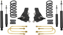 """Black Front 3/"""" Lift Kit With Shock Extender Ford F-150 97-03 2WD"""