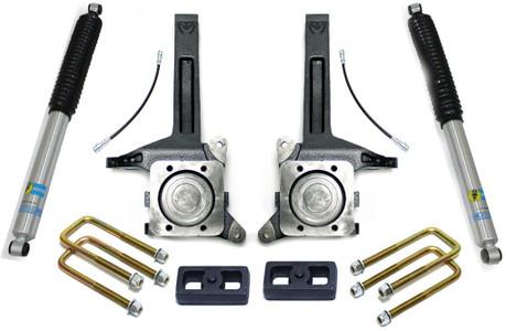 """2007-2021 Toyota Tundra 2wd 3.5"""" Lift Kit W/Bilstein Shocks - MaxTrac K886732B"""