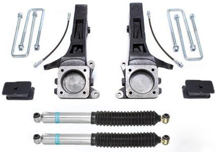 "2005-2020 Toyota Tacoma (6 Lug) 2wd 4"" Lift Kit W/ Bilstein Shocks - MaxTrac K886842B"