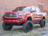 """2018 Toyota Tacoma Lifted 6.5"""" W/ MaxTrac K886864 Running 20x10 XD Grenade W/ 275/60R20 BFG AT KO2  Front Side View"""