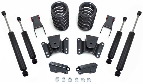 1973-1987 Chevy C10 2wd 2/4 Lowering Kit - MaxTrac KH331124