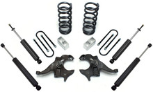 "1982-2004 Chevy S-10 4Cyl 3/4"" Lowering Kit - MaxTrac KS330134"