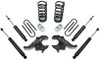 "1982-1997 Chevy S-10 Blazer 4Cyl 3/4"" Lowering Kit - MaxTrac KS330134"