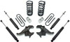 "1982-2004 Chevy S-10 Blazer V6 3/4"" Lowering Kit - MaxTrac KS330134"